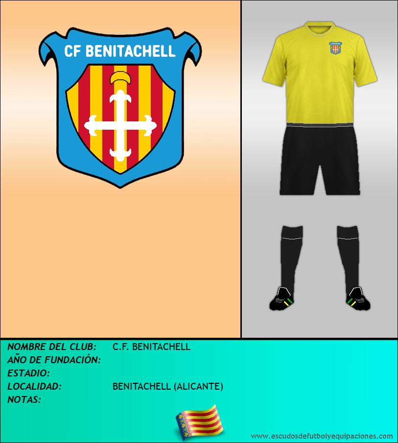 Escudo de C.F. BENITACHELL