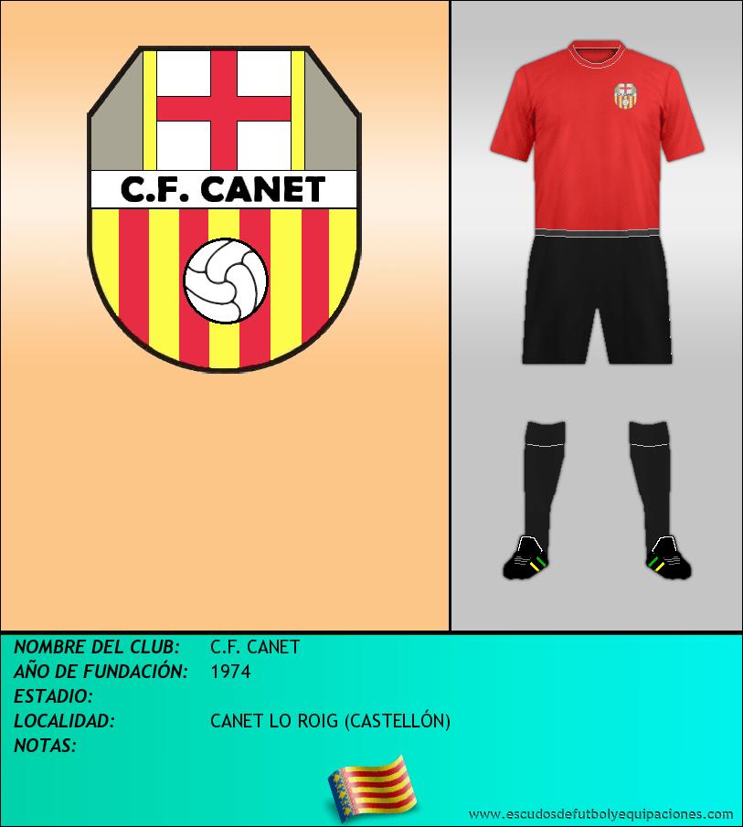 Escudo de C.F. CANET