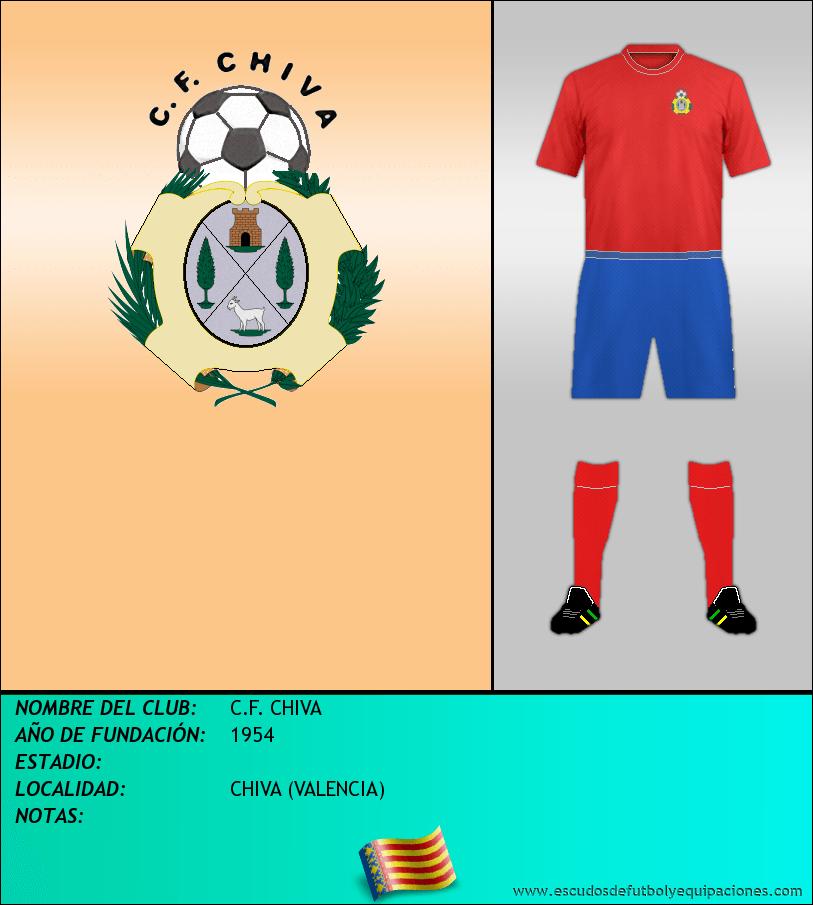 Escudo de C.F. CHIVA