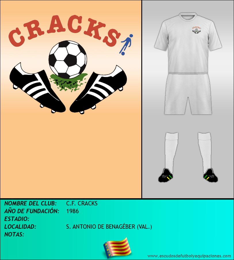 Escudo de C.F. CRACKS