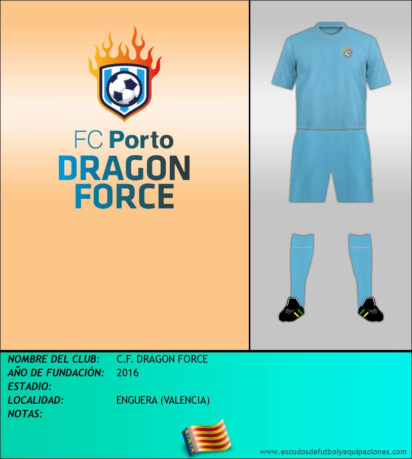Escudo de C.F. DRAGON FORCE