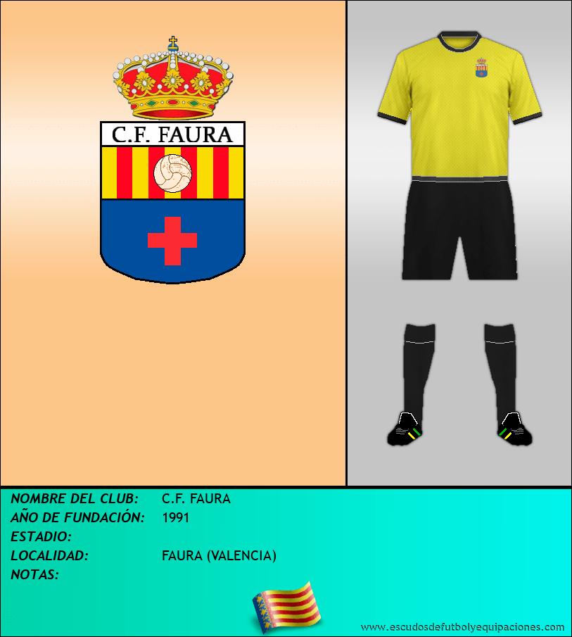 Escudo de C.F. FAURA