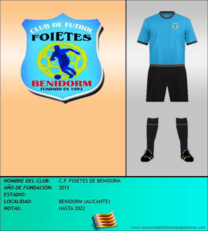 Escudo de C.F. FOIETES DE BENIDORM