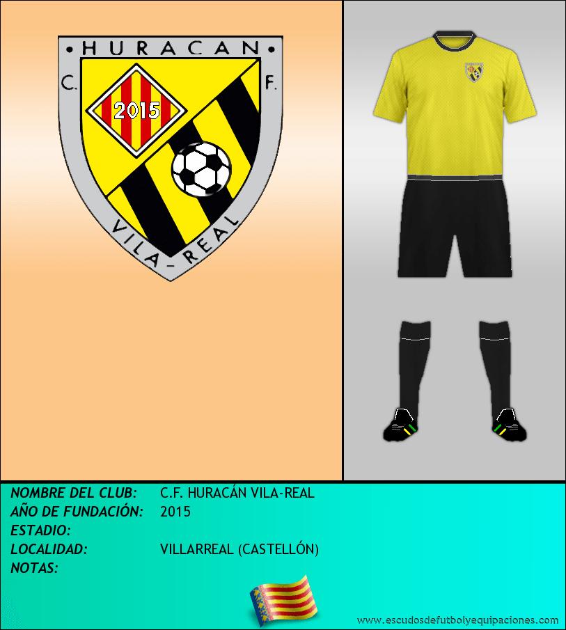 Escudo de C.F. HURACÁN VILA-REAL