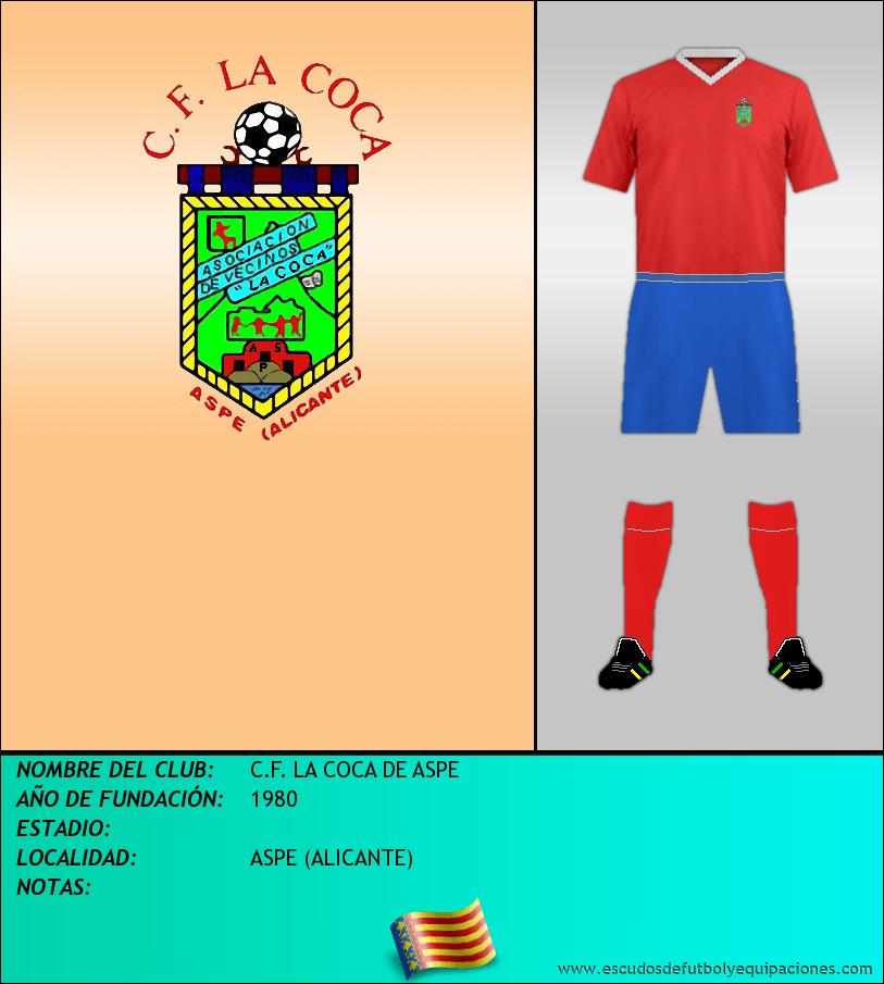 Escudo de C.F. LA COCA DE ASPE