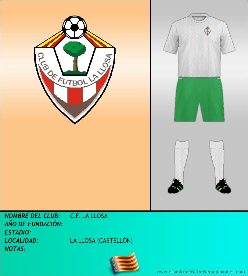 Escudo de C.F. LA LLOSA
