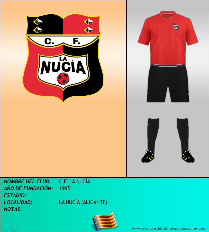 Escudo de C.F. LA NUCÍA