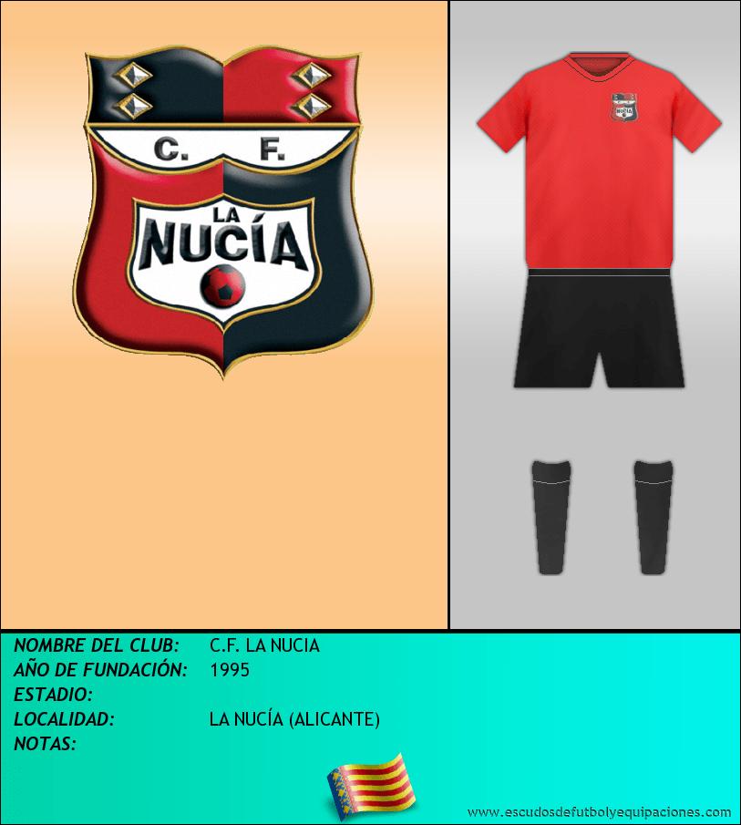Escudo de C.F. LA NUCIA