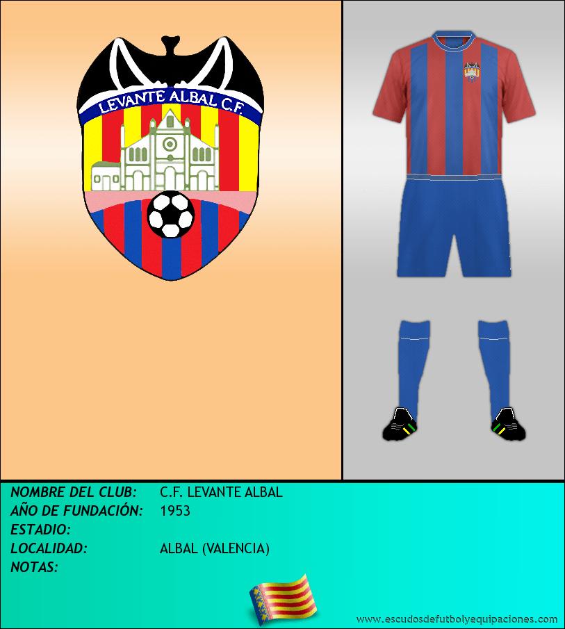 Escudo de C.F. LEVANTE ALBAL