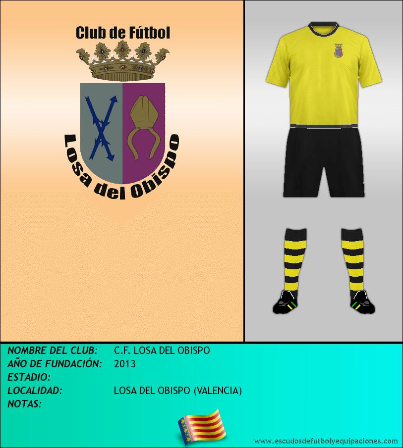 Escudo de C.F. LOSA DEL OBISPO