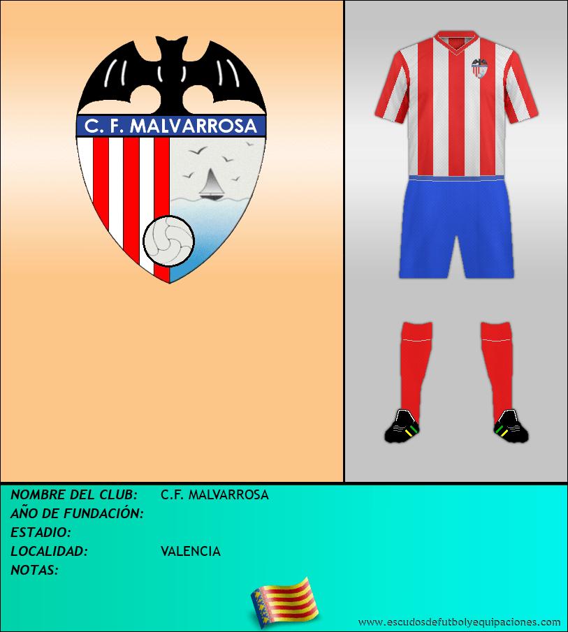 Escudo de C.F. MALVARROSA