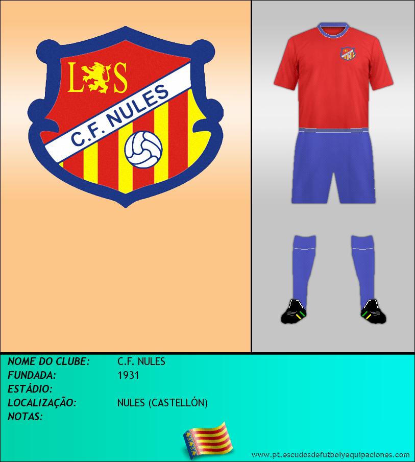 Escudo de C.F. NULES