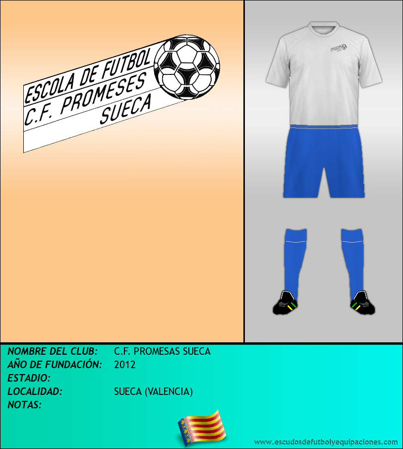 Escudo de C.F. PROMESAS SUECA