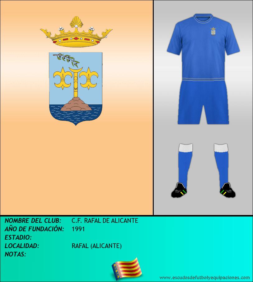 Escudo de C.F. RAFAL DE ALICANTE