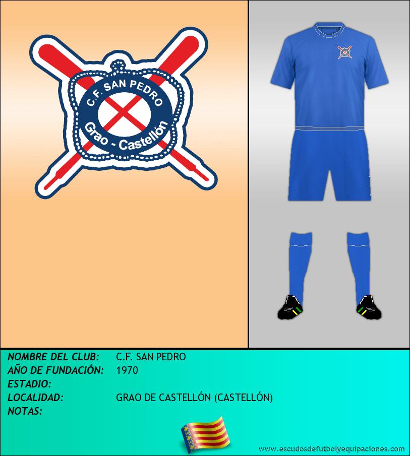 Escudo de C.F. SAN PEDRO