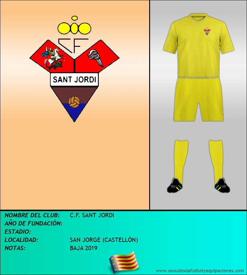 Escudo de C.F. SANT JORDI