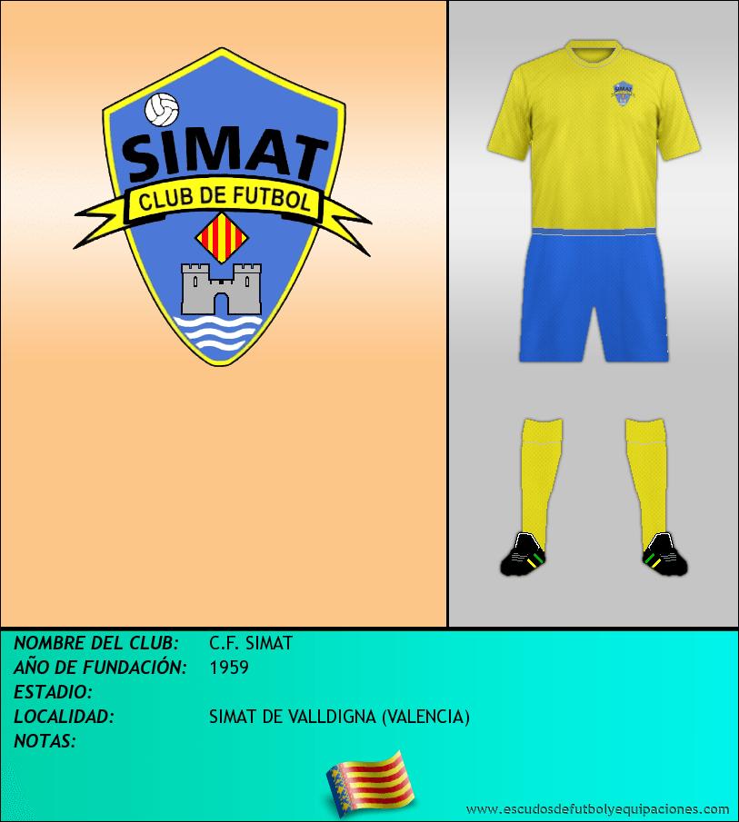 Escudo de C.F. SIMAT