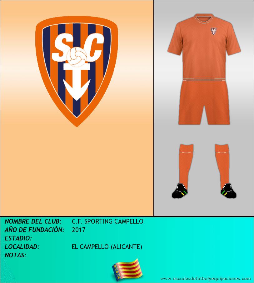 Escudo de C.F. SPORTING CAMPELLO