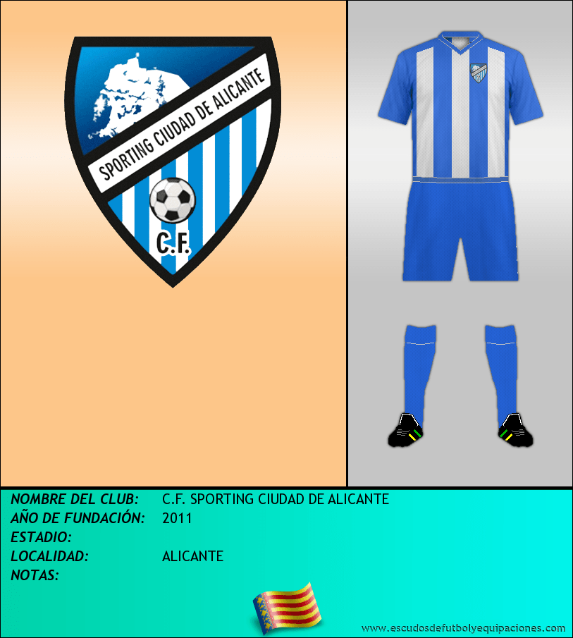 Escudo de C.F. SPORTING CIUDAD DE ALICANTE