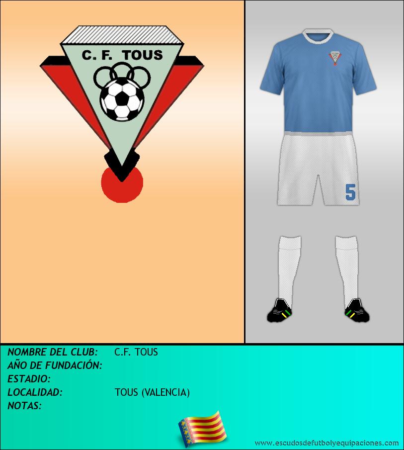 Escudo de C.F. TOUS
