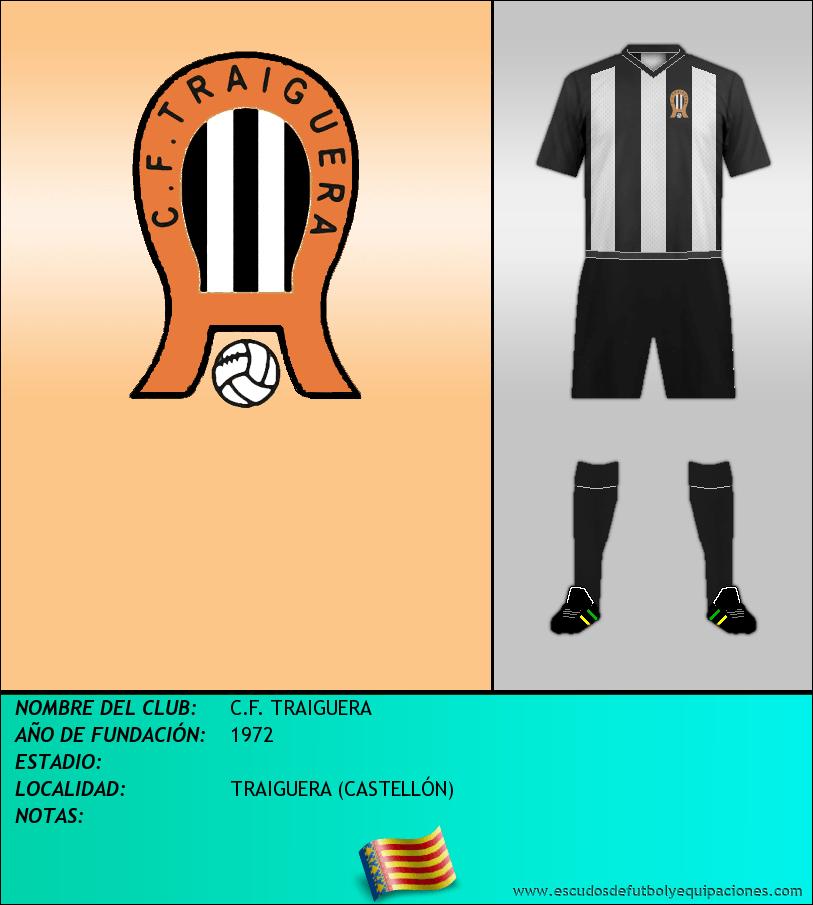 Escudo de C.F. TRAIGUERA
