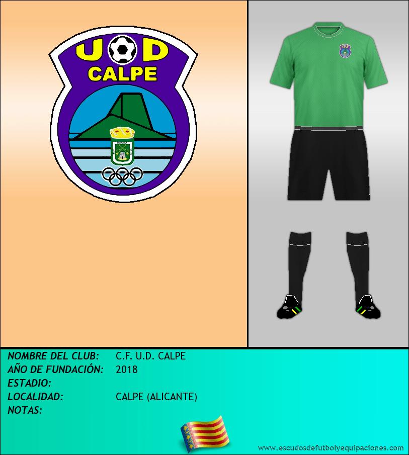 Escudo de C.F. U.D. CALPE