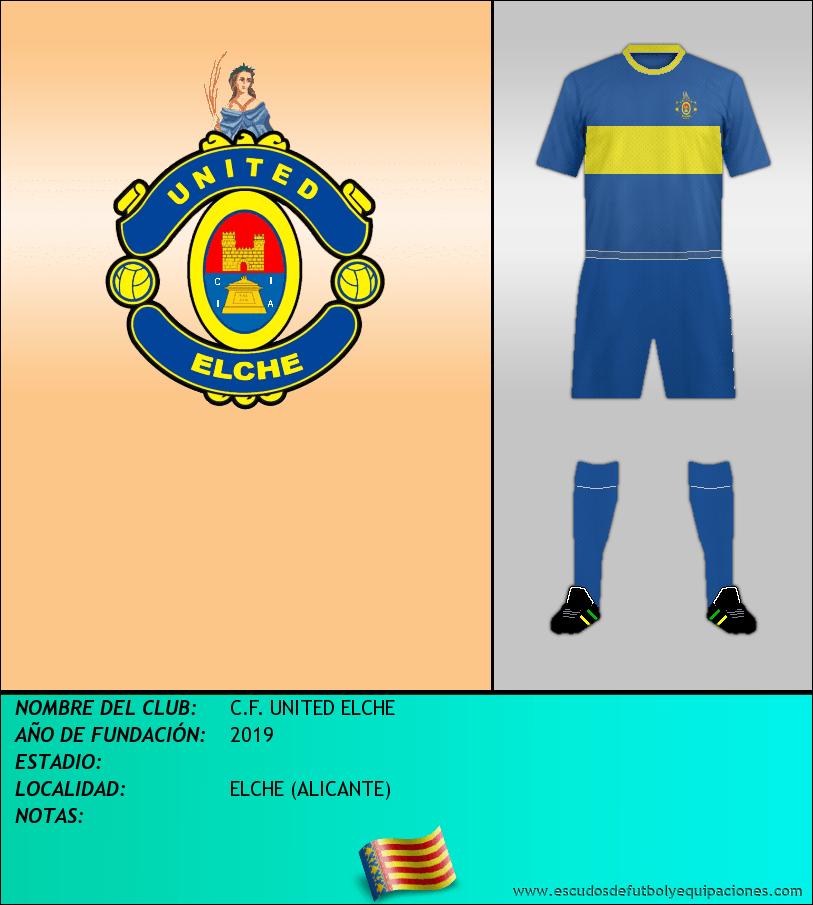 Escudo de C.F. UNITED ELCHE