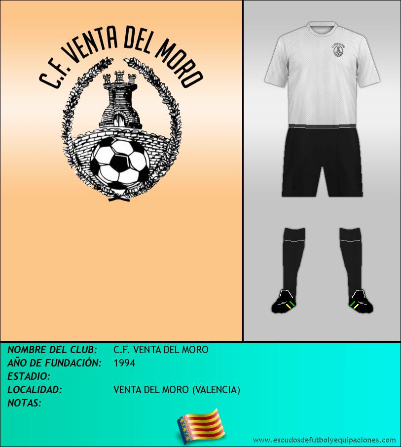 Escudo de C.F. VENTA DEL MORO
