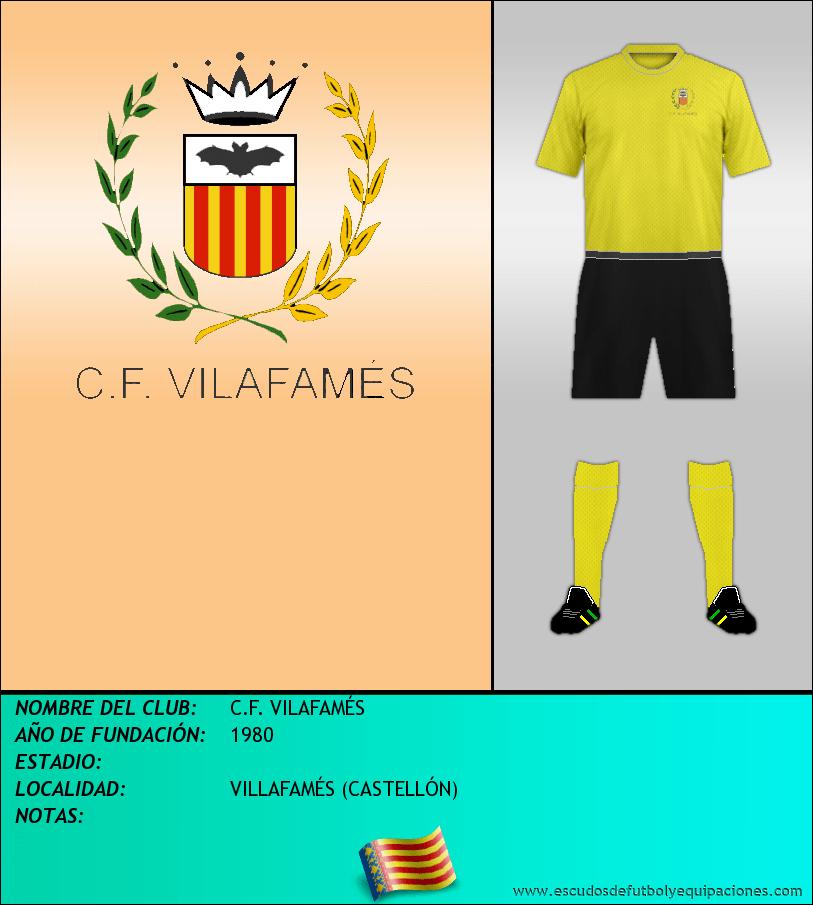 Escudo de C.F. VILAFAMÉS