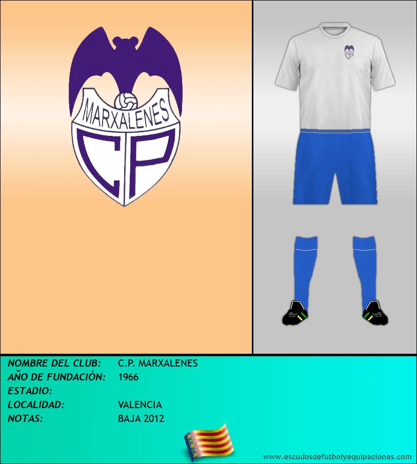 Escudo de C.P. MARXALENES