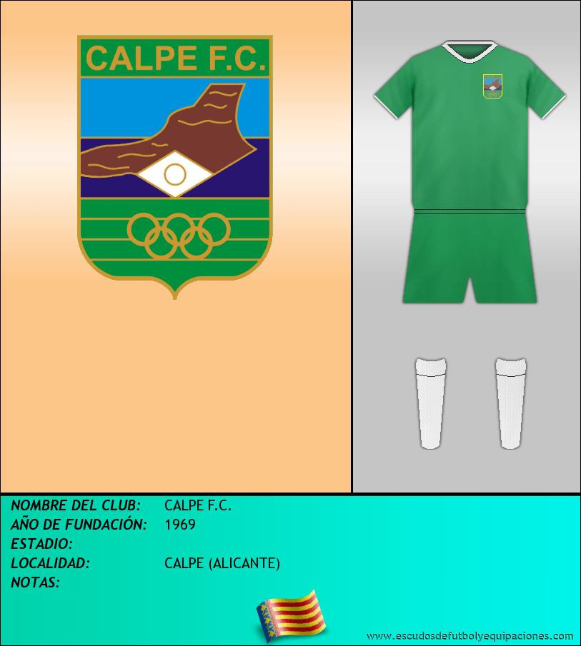 Escudo de CALPE F.C.