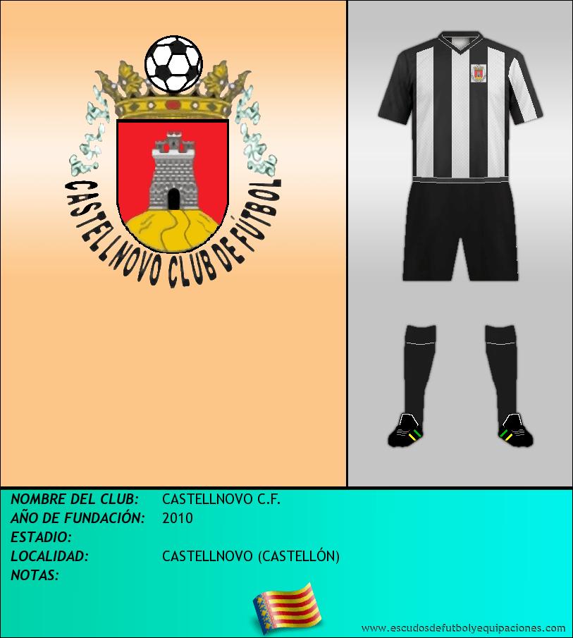 Escudo de CASTELLNOVO C.F.