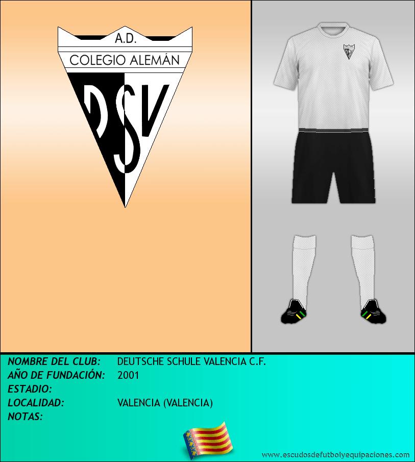 Escudo de DEUTSCHE SCHULE VALENCIA C.F.