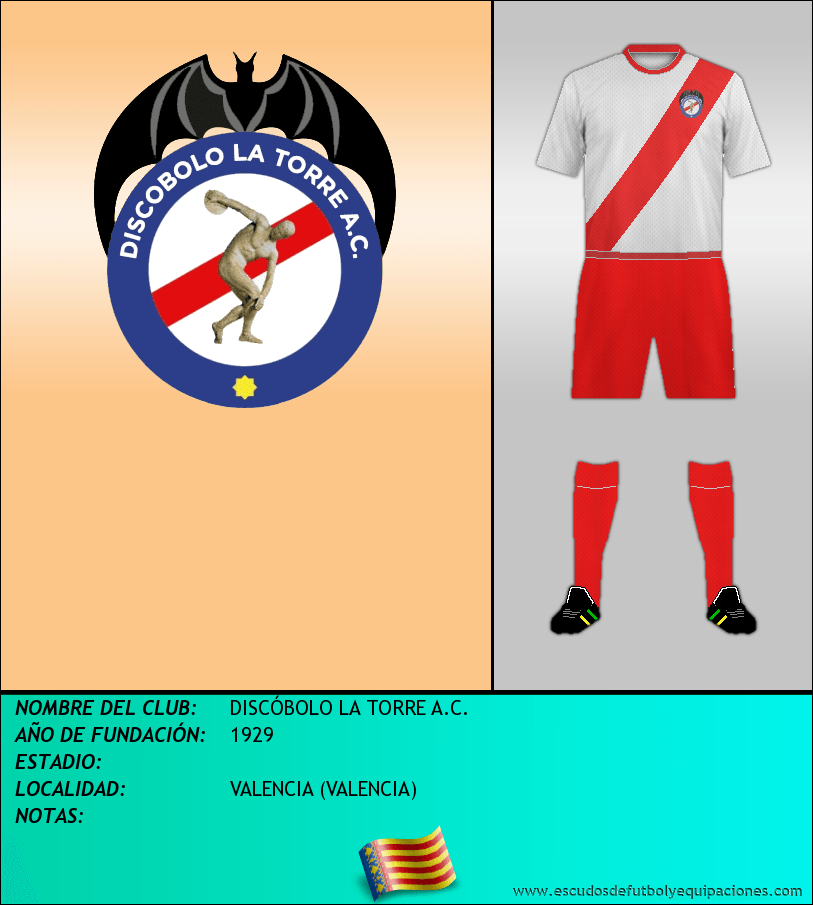 Escudo de DISCÓBOLO LA TORRE A.C.