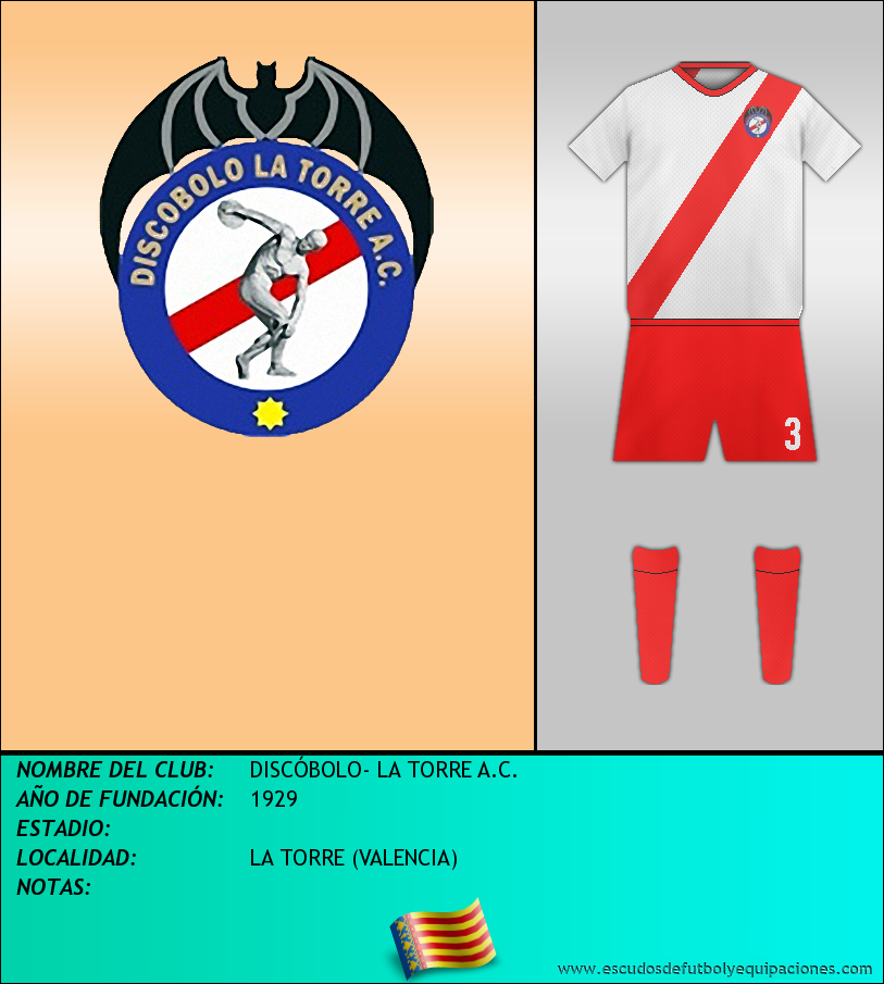 Escudo de DISCÓBOLO- LA TORRE A.C.