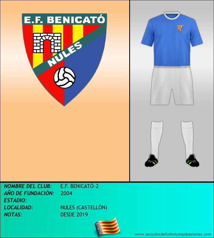Escudo de E.F. BENICATÓ-2