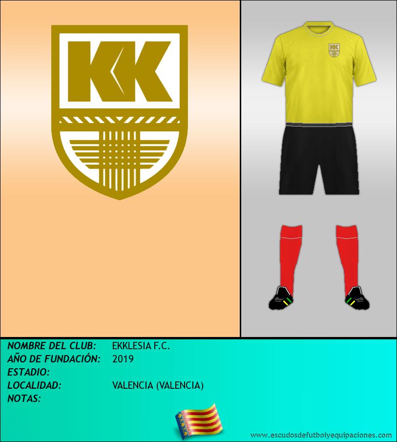 Escudo de EKKLESIA F.C.