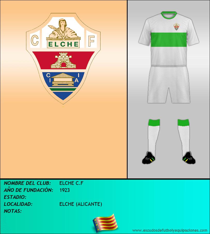 Escudo de ELCHE C.F