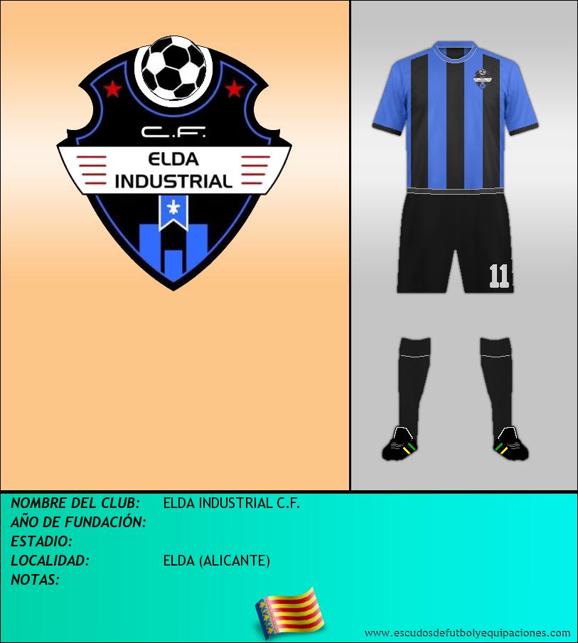 Escudo de ELDA INDUSTRIAL C.F.