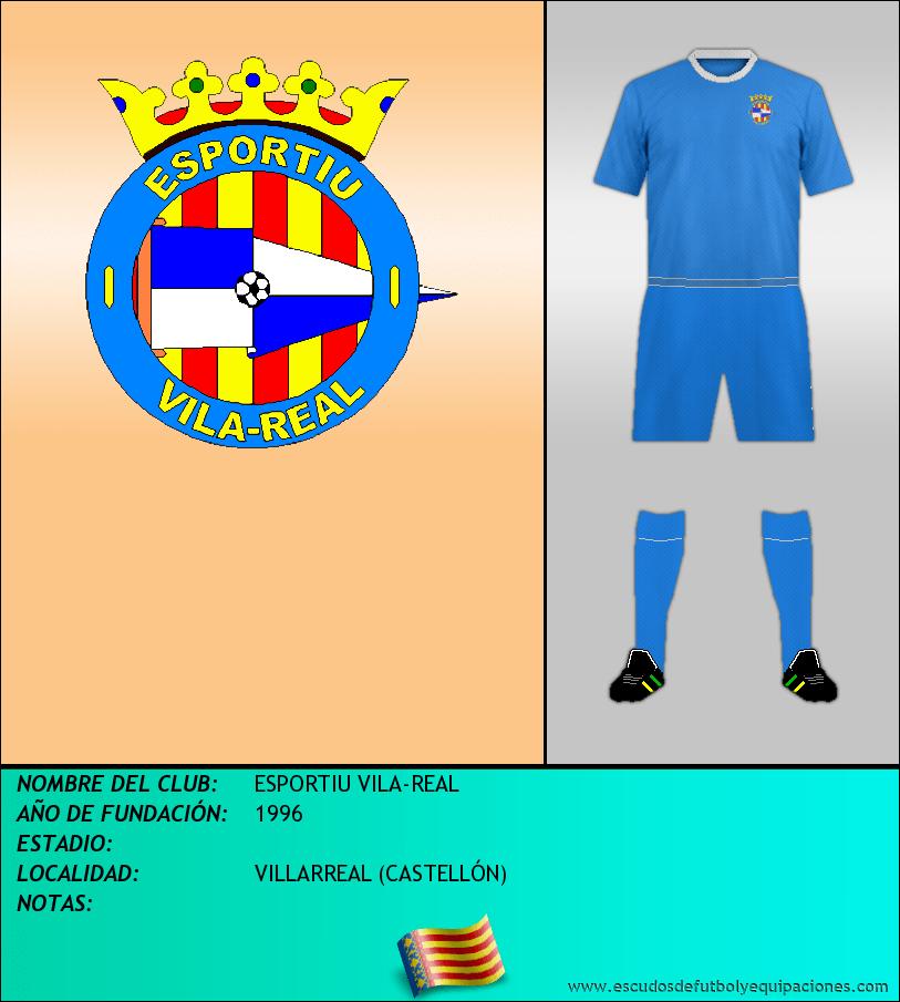 Escudo de ESPORTIU VILA-REAL