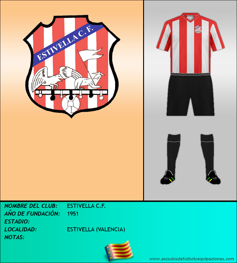 Escudo de ESTIVELLA C.F.