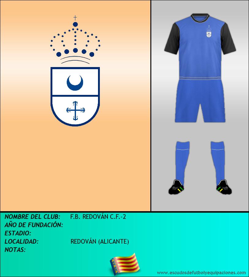Escudo de F.B. REDOVÁN C.F.-2