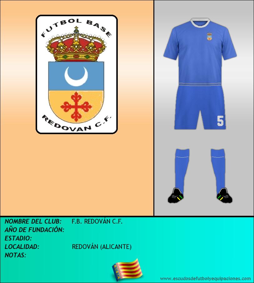 Escudo de F.B. REDOVÁN C.F.