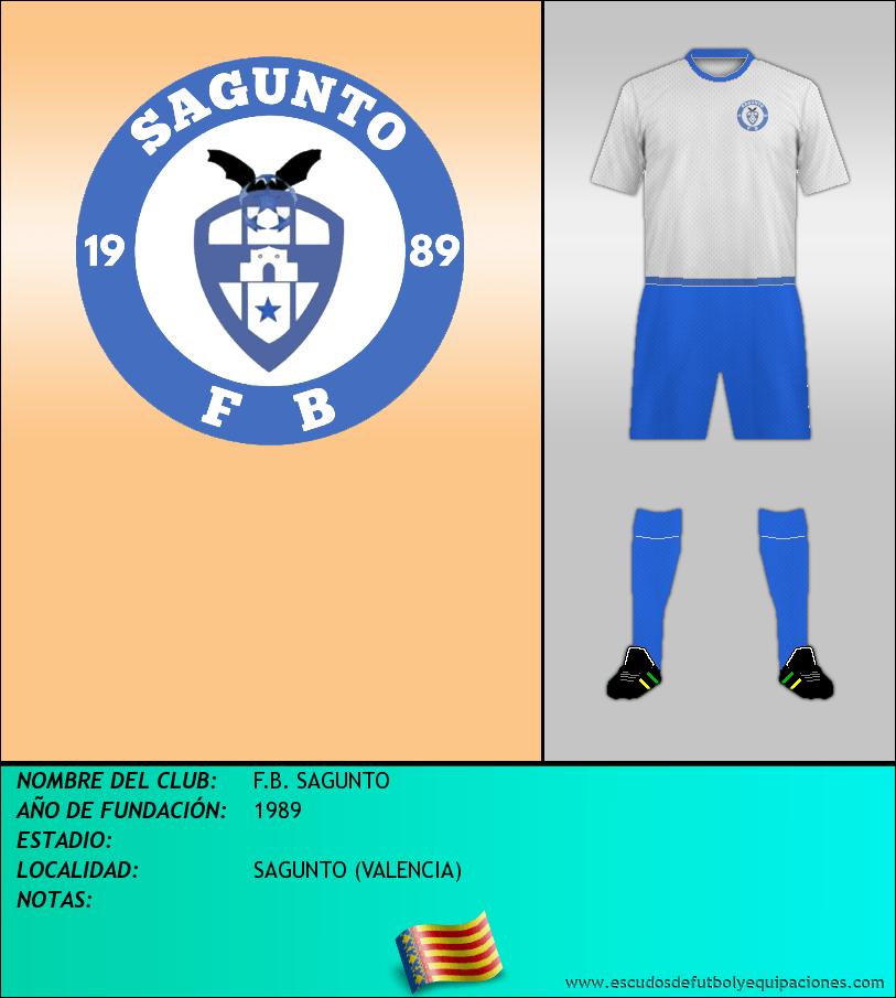 Escudo de F.B. SAGUNTO