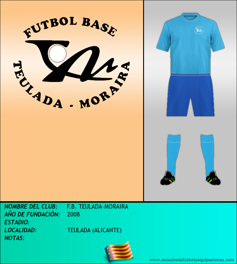 Escudo de F.B. TEULADA-MORAIRA