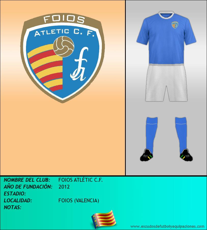 Escudo de FOIOS ATLÉTIC C.F.