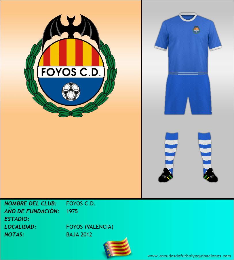 Escudo de FOYOS C.D.