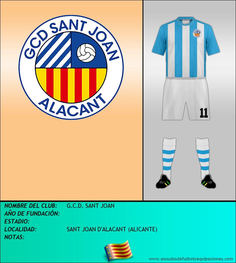 Escudo de G.C.D. SANT JOAN