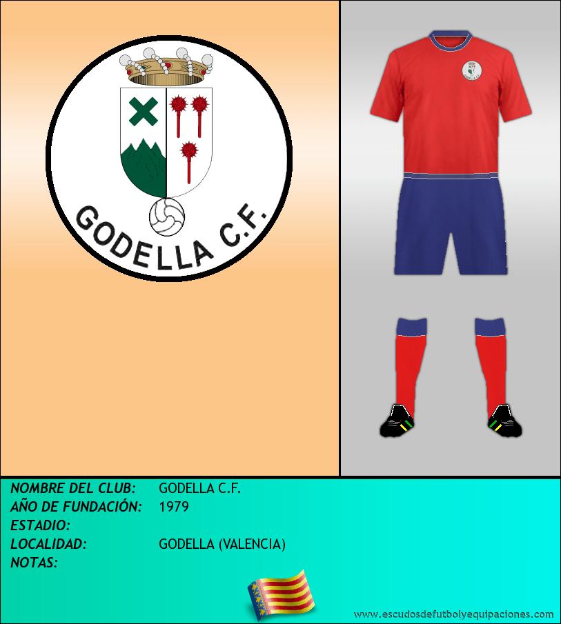 Escudo de GODELLA C.F.