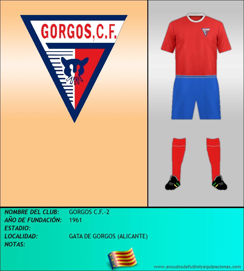 Escudo de GORGOS C.F.-2